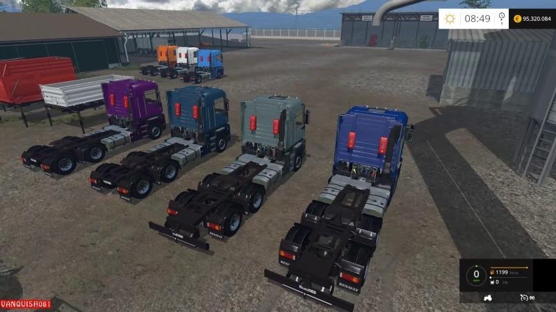 renault magnum integral truck v 2 0 farming simulator 2017 2015 15 17 ls mod. Black Bedroom Furniture Sets. Home Design Ideas