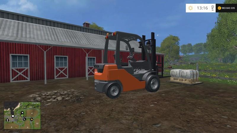 Toyota Forklift Pack V 1 1 FS15 - Farming simulator 2019