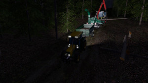 CLAAS Xerion 4500 Tractor V 1 (1)