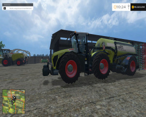 CLAAS Xerion 4500 Tractor V 1 (12)