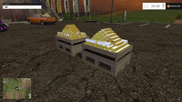 Gold Bars Object