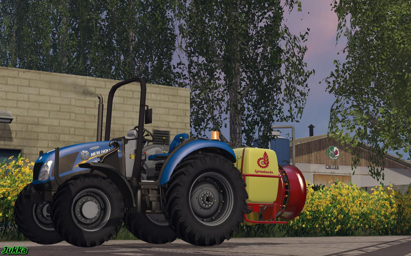 NEWHOLLAND T4.75 GARDEN EDITION TRACTOR V1