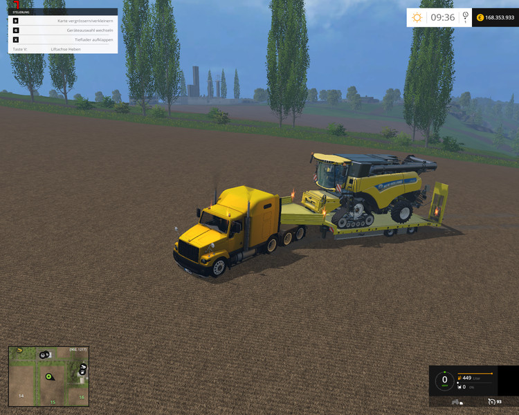 Wide Fliegltieflader Trailer V 1 0 - Farming simulator 2019 / 2017
