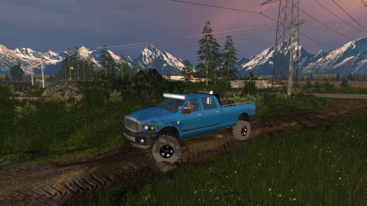 Dodge Cummins Farming Simulator 2019 2017 2015 Mods