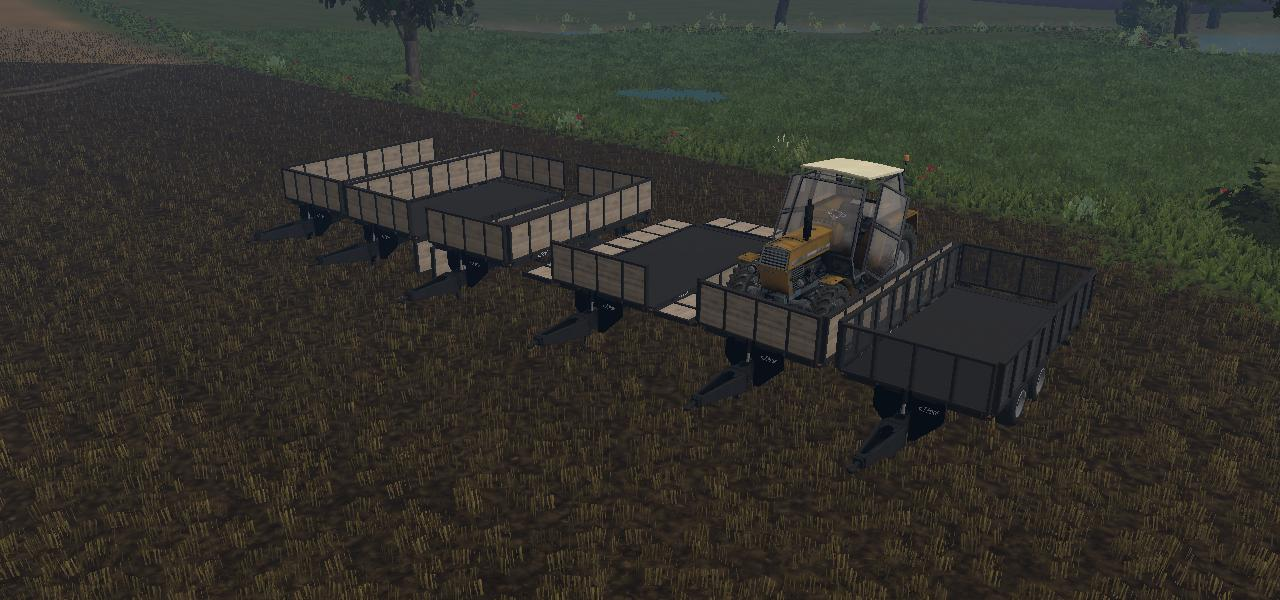 Fliegl Transporter Trailer Farming Simulator 2017 2015