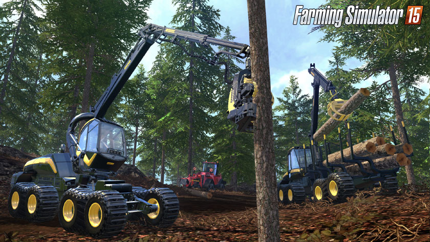 Farming Simulator 2015 on Consoles !!! - Farming simulator