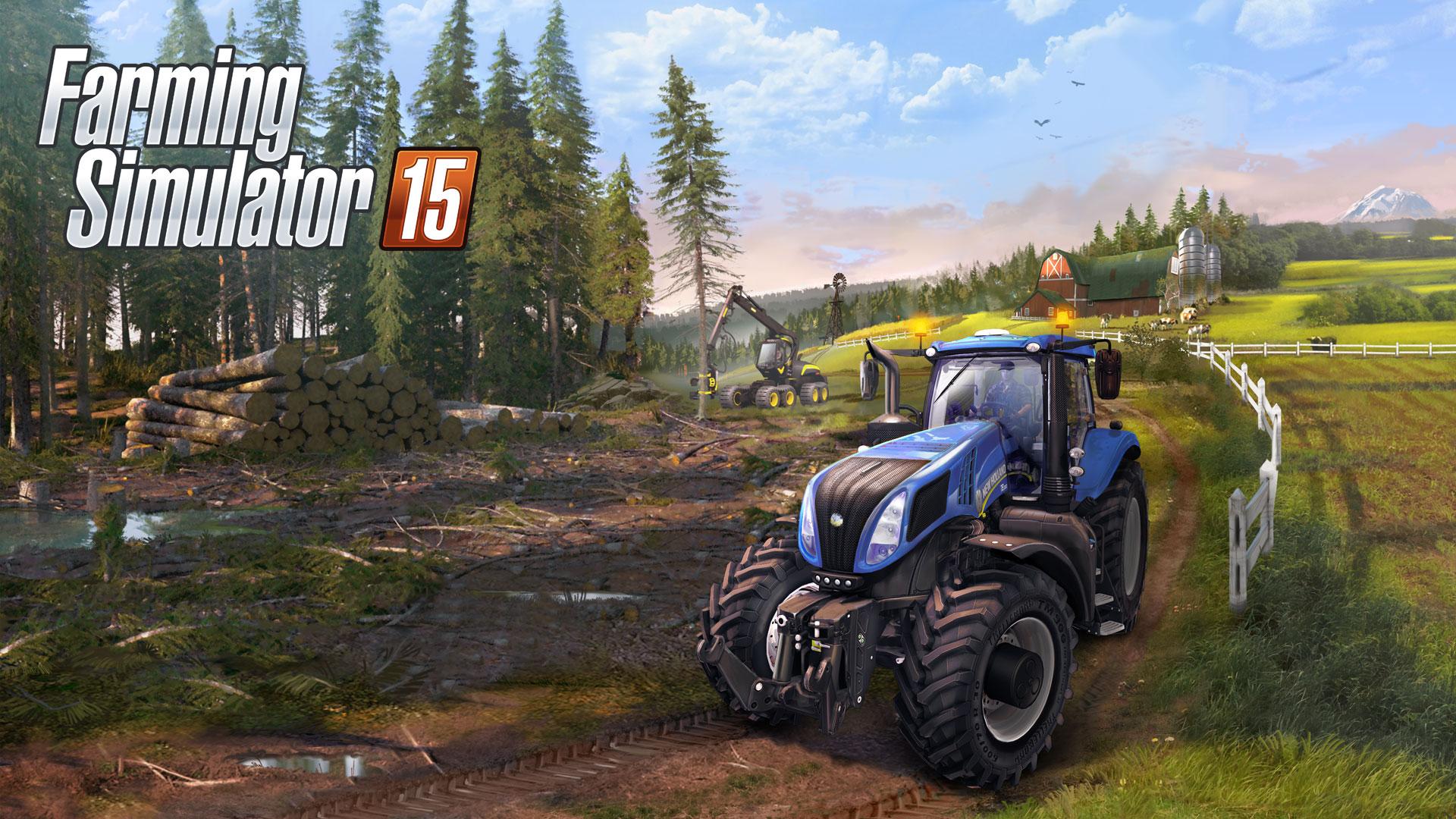 Farming simulator 15 (2015) скачать через торрент игру.