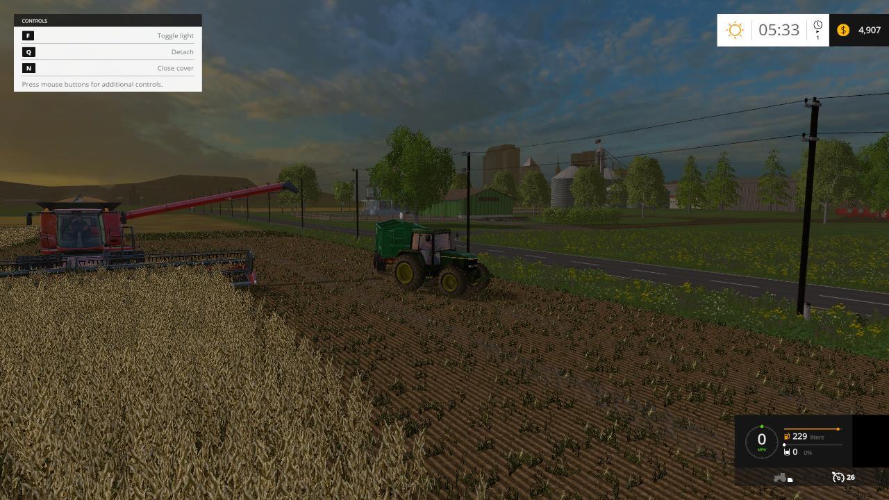 Canadian Map Farming Simulator 2015%0A GREENACRES REBUILT MAP V