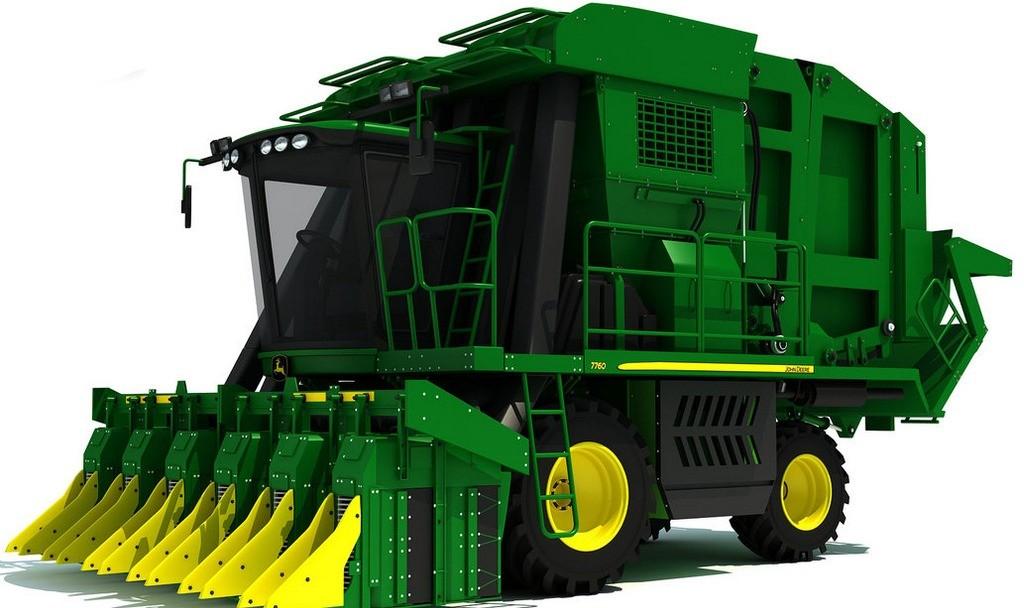JD 7760 Cotton Picker Combine