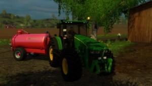 JOHN DEERE 8370 Tractor V3 (2)