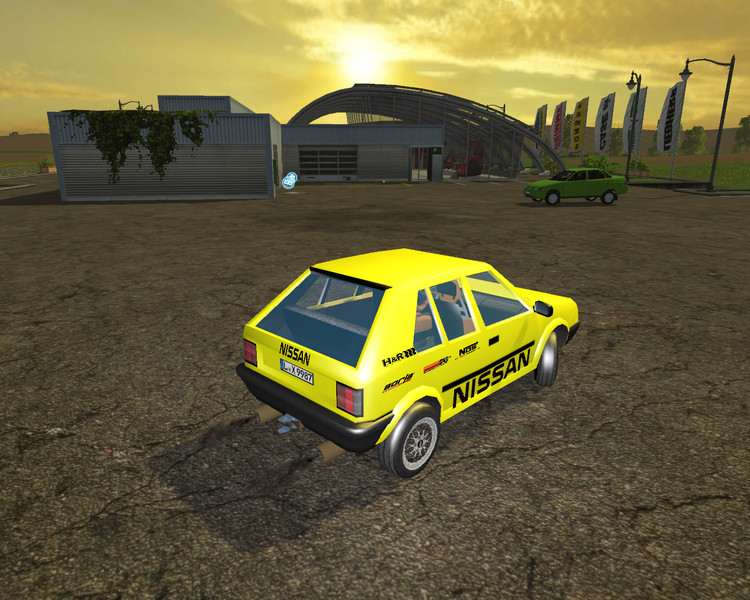 Nissan Micra Racing Edition Car V 2 0 - Farming simulator