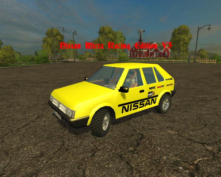 Nissan Micra Racing Edition Car V 3 0 - Farming simulator
