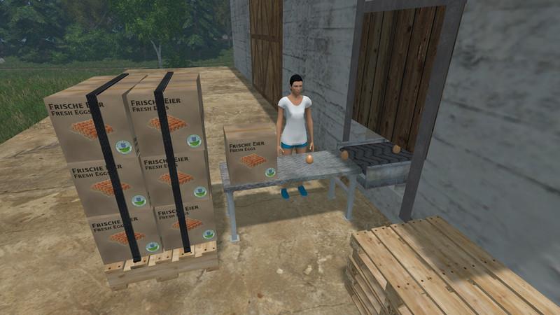 farming simulator how to sell eggs