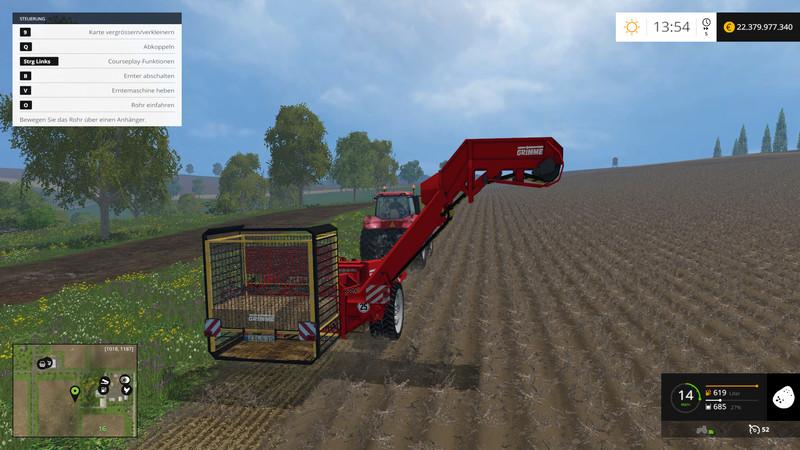 Grimme GT 170 Bunker Trailer V 0 9 FS 2015 - Farming simulator 2019