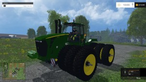 JD 9630 WITH NARROW TRIPLES TRACTOR V1 (8)