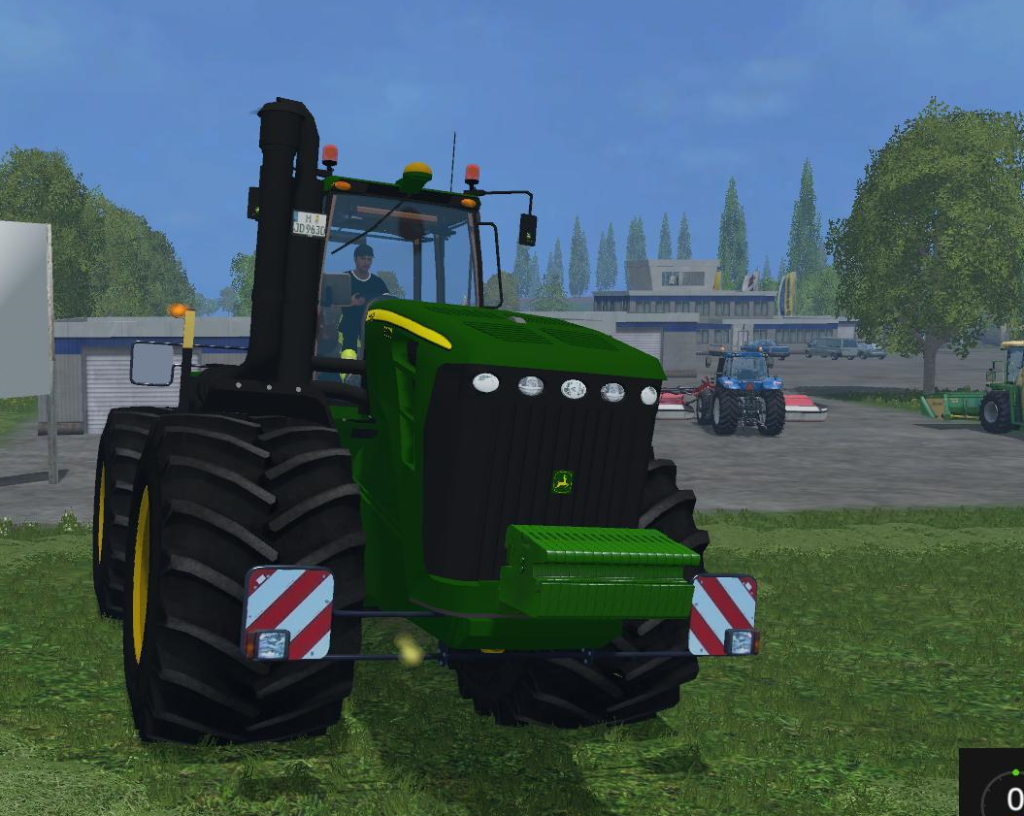 JD 9630 WITH TERRA TRACTOR V1