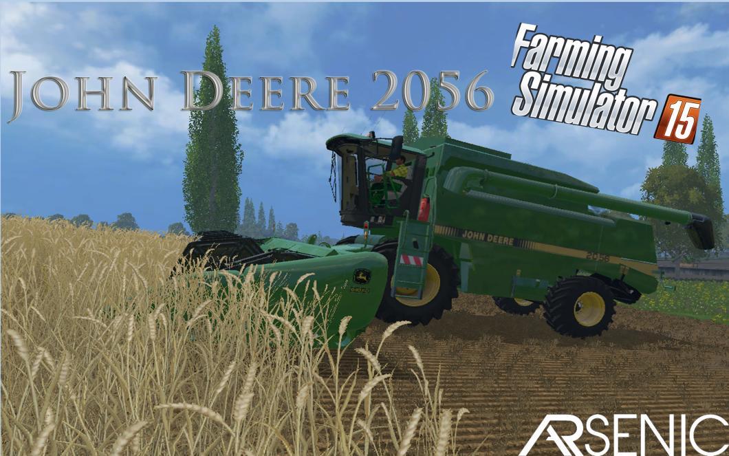 JOHN DEERE 2056 COMBINE V1 - Farming simulator 2017 / 2015 ...