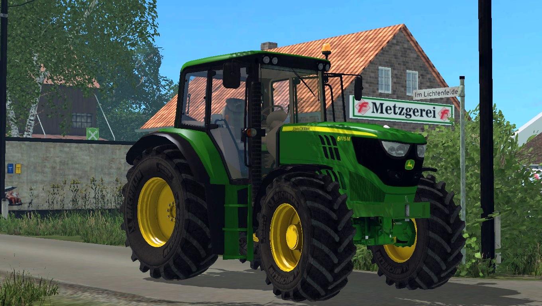 John Deere 6115m Weight Tractor V 1 1 Farming Simulator
