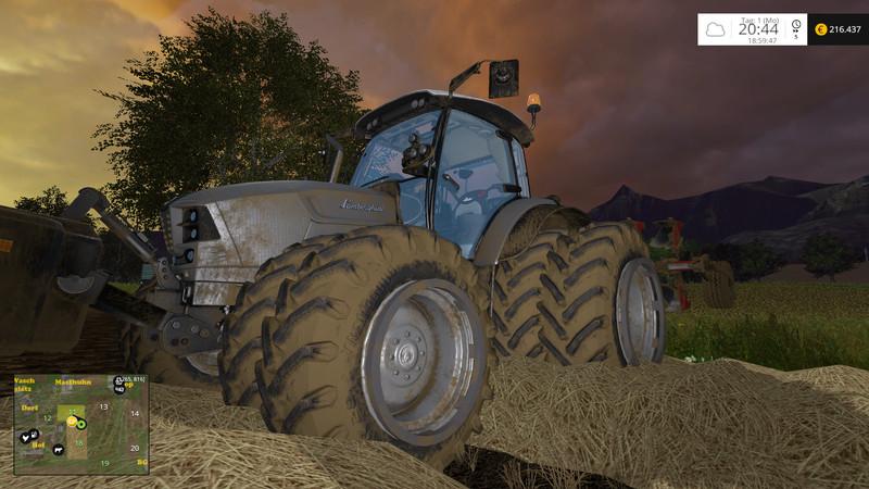 Lamborghini Nitro 120 T4i Vrt Tractor V 1 2 Farming Simulator 2019