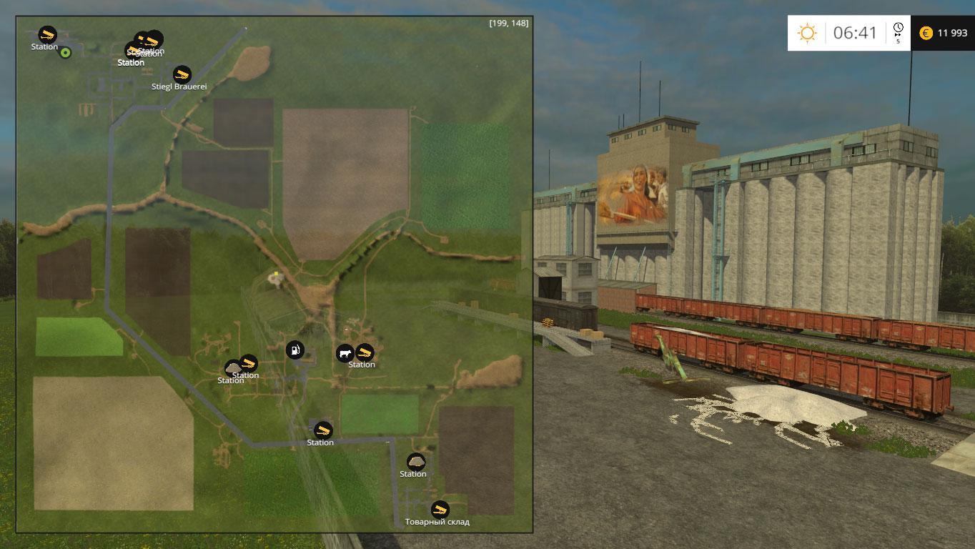 Canadian Map Farming Simulator 2015%0A MAP KOLHOZ RASSVET  EDIT V    FS