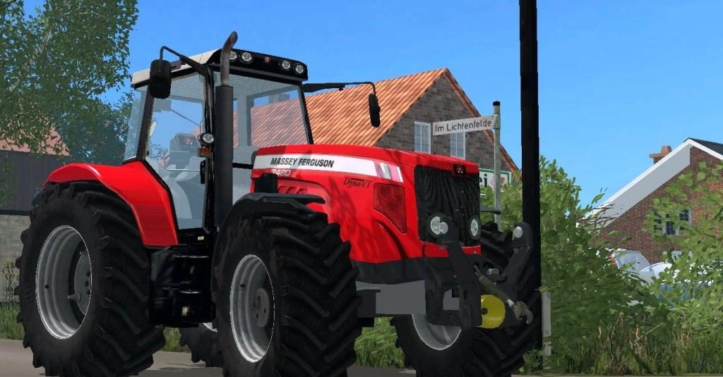 Massey Ferguson 7480 Tractor v 2.5