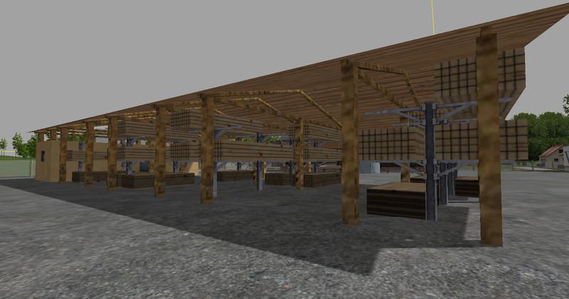 Sawmill V 1 0 Building - Farming simulator 2019 / 2017 / 2015 Mod