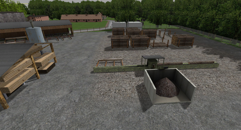 Sawmill V 1 0 Building - Farming simulator 2019 / 2017