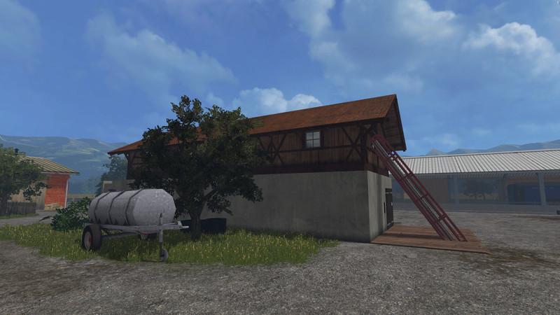 Straw And Haybarn V 1 0 FS15 - Farming simulator 2019 / 2017 / 2015 Mod