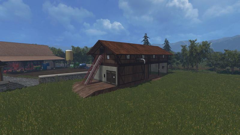 Straw And Haybarn V 2 0 Mod - Farming simulator 2019 / 2017 / 2015 Mod