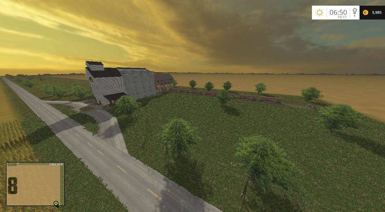 USA MONTANA MAP FS 15  Farming Simulator 2015  15 LS Mod
