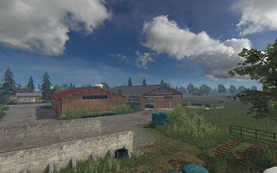 BIELEFELD MAP MOD FS CONTEST Farming Simulator - Southern norway map ls15