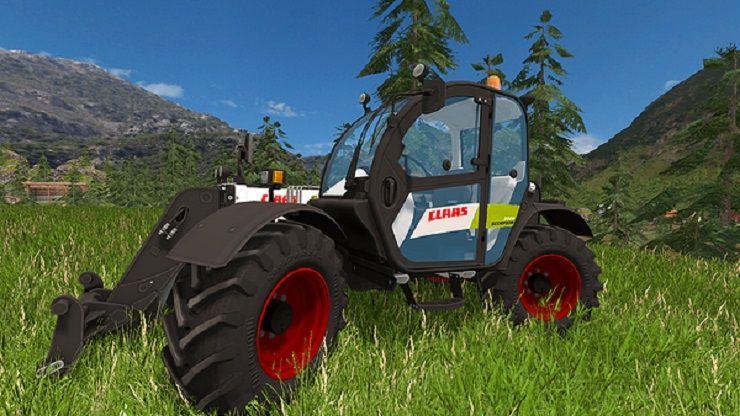 Farming simulator 2015 mods telescopique claas