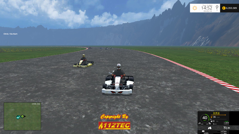 Go Kart V 2 0 FS15 - Farming simulator 2019 / 2017 / 2015 Mod