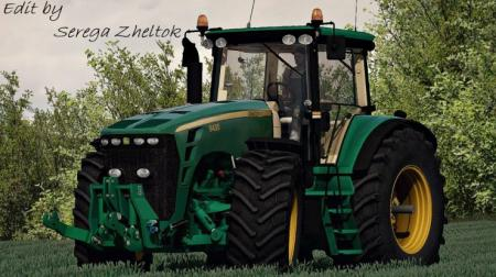 JD 8530FH TRACTOR