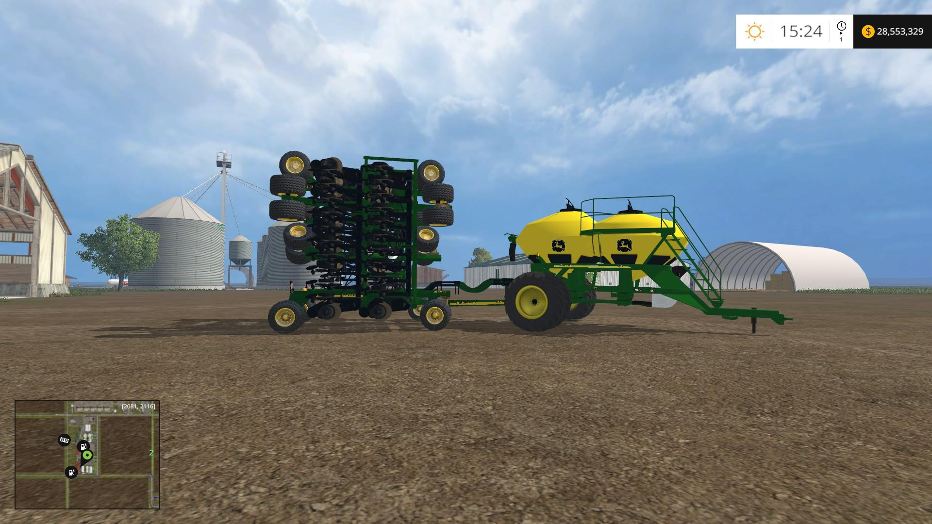jd air seeder fs 15 v5 mod farming simulator 2019 2017 2015 mod rh farming2015mods com