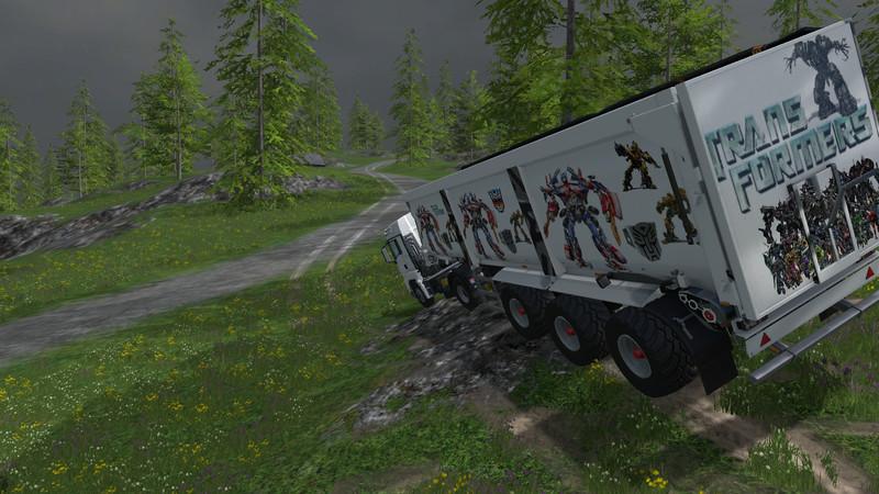 Krampe SB 3060 Transformers Trailer V 1 0 - Farming