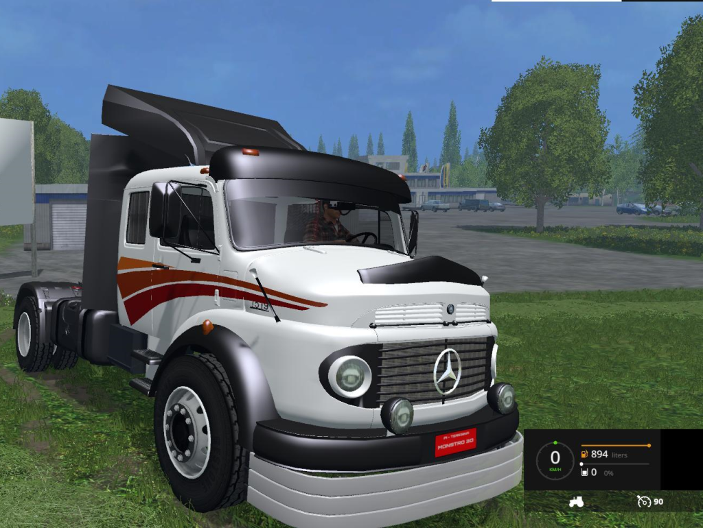 mercedes benz 1519 truck v3 farming simulator 2015 15