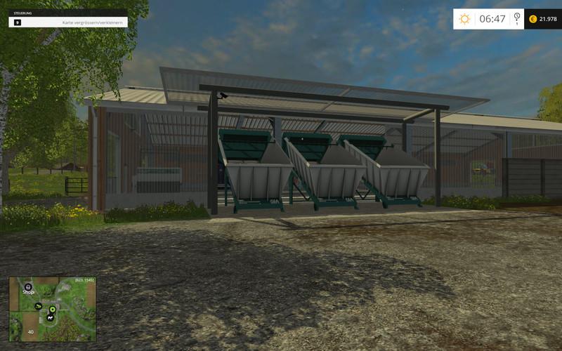 Mix Feeder Beispielmap V FS Farming Simulator - Farming simulator 2015 us map feed cows