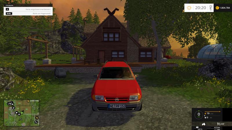 Opel Astra F Caravan 1 7 TD Club Car V 1 0 - Farming simulator 2019