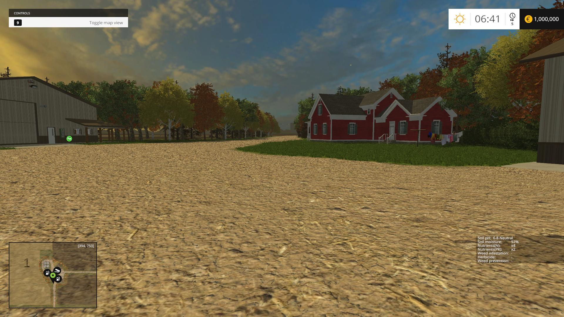 Farming Simulator 17 American Map.Small Town America Map V2 0 Farming Simulator 2019 2017 2015 Mod
