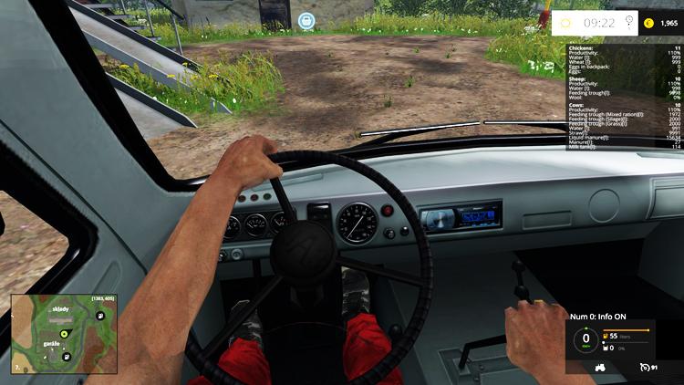 скачать мод для Farming Simulator 2015 на уаз - фото 5