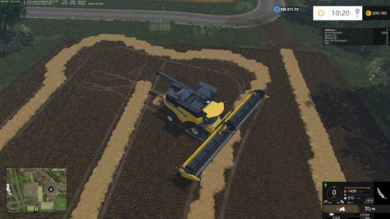 AutoCombine V 4 01 FS15 - Farming simulator 2019 / 2017 / 2015 Mod