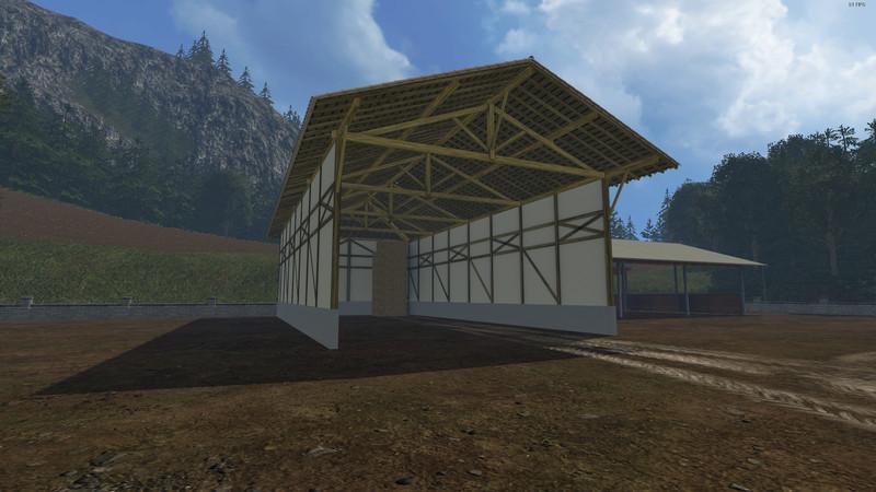 Bale Storage Building V 1 0 Mod Farming Simulator 2019