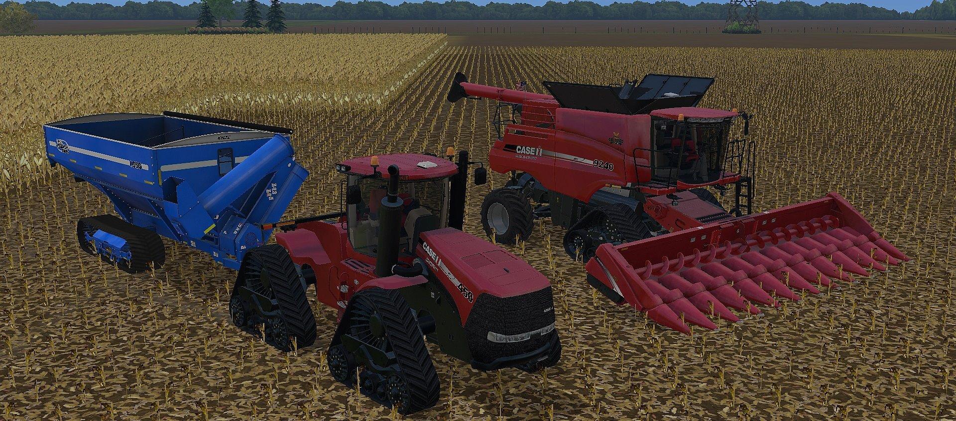 CASE IH COMBINES PACK V1 0 FS 2015 - Farming simulator 2019 / 2017