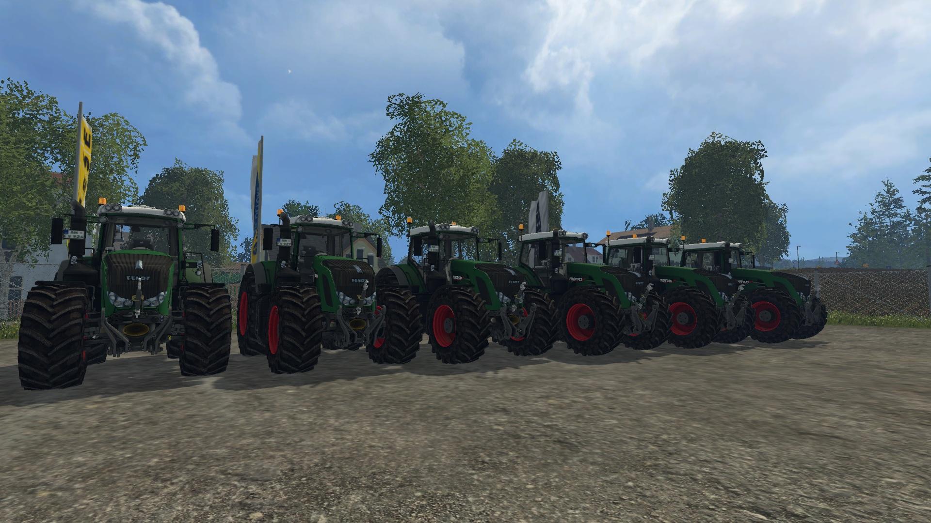 Fendt 900 Tractor Pack Green V 3.1 - Farming simulator ...
