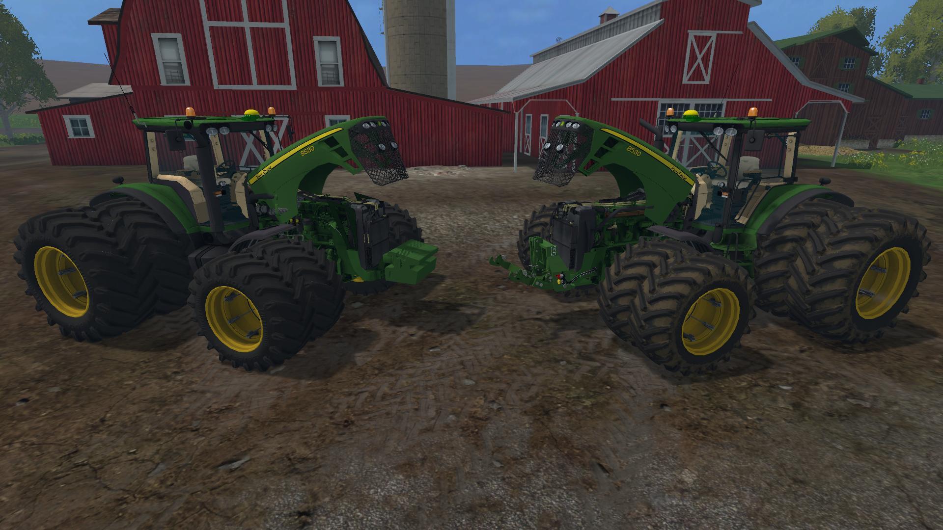 Farming Lady Deere 8530 Eu Tractor V20 Mod Farming Simulator 2015