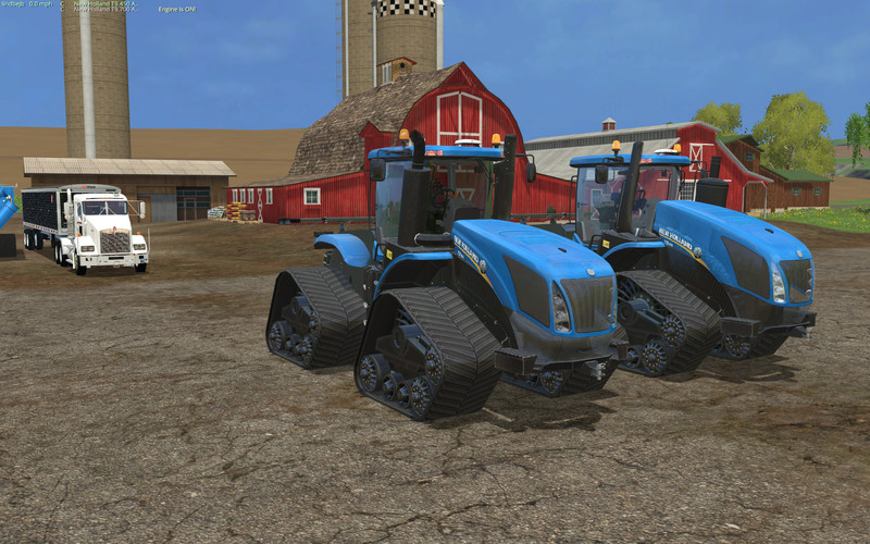 New Holland T9 700 V 1 1 0 0 FS 15 - Farming simulator 2019 / 2017