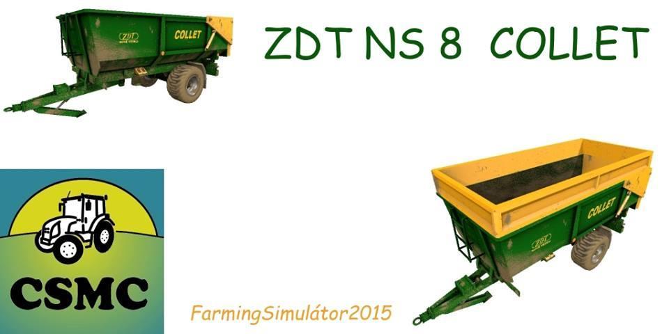 ZDT NS8 COLLET Trailer V1.0