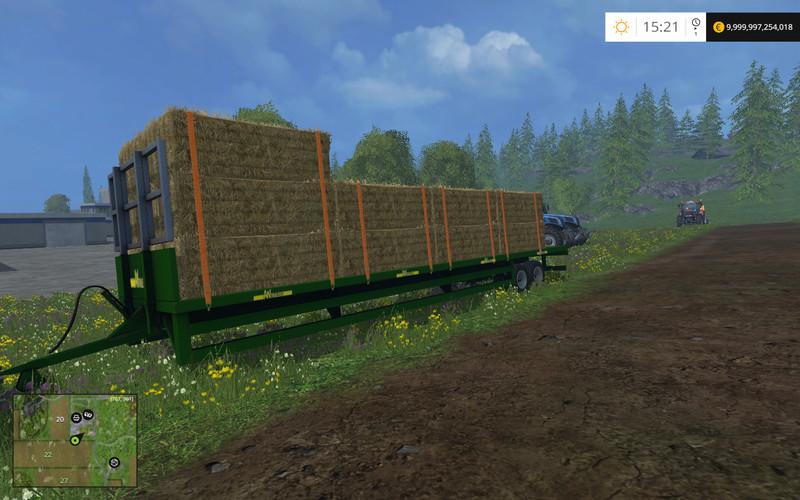 AW Trailer UBT Auto Loading V 1 0 Mod - Farming simulator 2019