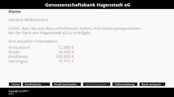 bank of hagenstedt   2015